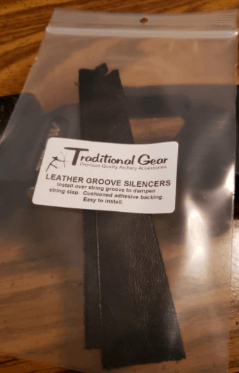 recurve bow bowstring silencer in package
